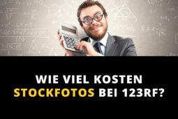 Wie viel kosten Stockfotos bei 123RF?