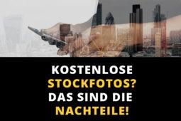 Kostenlose Stockfotos – Das sind die gefährlichen Nachteile
