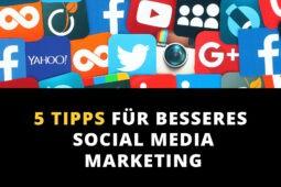 5 Tipps: Die passenden Bilder für dein Social Media Marketing